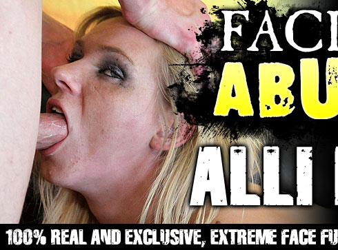 Alli May Destroyed On Facial Abuse